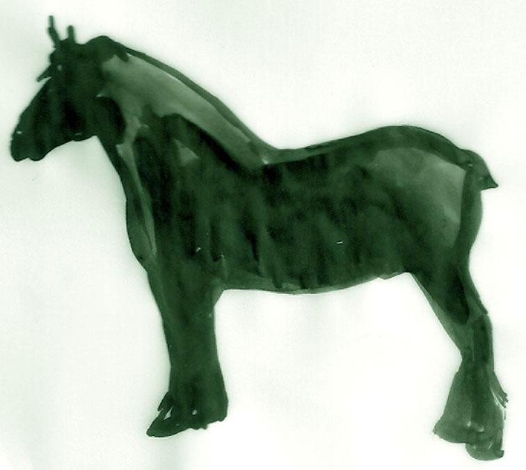 cheval_encre_vert