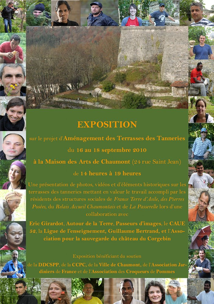 affiche expo jardin